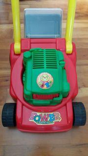 Kinderrasenmäher aus Kunststoff Kinderspielzeug