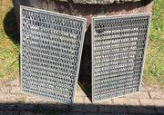 Fußabstreiferkasten Komplettset 60x40