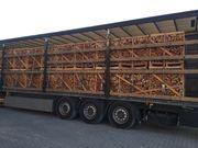 Brennholz ganze Lkw-Ladungen mit Buche