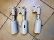 3 Stück 3-Phasen Strahler ERCO