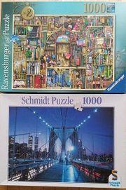 Ravensburg Puzzle und Schmidt Puzzle