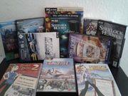 PC-Spielesammlung 11-teilig günstig zu verkaufen