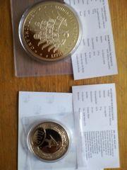 Münzen Fall der Berliner Mauer