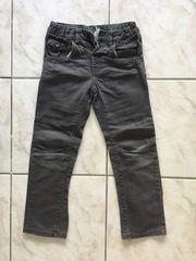Jeans grau Gr 128