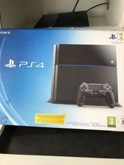 Verkaufe eine PS4 mit Controller