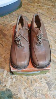 Neue 45 Leder Spanien Schuhe