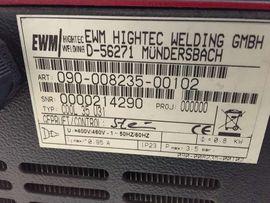 Schweißgerät Industrieschweißgerät EWM TETRIX 300: Kleinanzeigen aus Kassel Rothenditmold - Rubrik Geräte, Maschinen