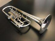 Josef Monke Konzerttrompete versilbert Trompete