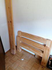 Holz-Bettgestell 90x200
