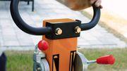 LUMAG 200kg - Rüttelplatte -Benzin - RP-200HPC