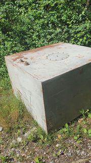 Stahltank 2m3 zu verkaufen
