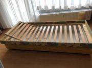 Bett mit Bettkasten 90x200 cm