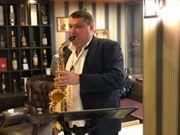 Live Musik Saxophonist Saxophonspieler für