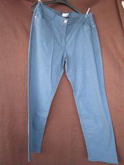 Größe 44 schöne Hose - indigoblau