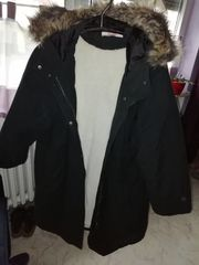 Damen Winter Long Jacke Gr