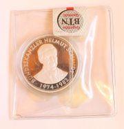 Medaille Helmut Schmidt Silbermedaille 2000 -