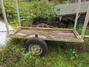 Holzanhänger für Quad oder Traktor