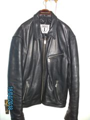LEDERJACKE HIGHWAY 1-MC UNIKAT