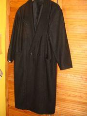 Mantel Wollmantel schwarz neuwertig da