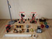 Deckenlampe Wandlampe Tischlampe Wandspot Deckenfluter