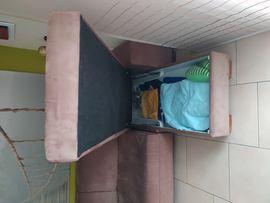 Bild 4 - Wohnzimmer Couch ausziehbar schlafen Ottomane - Stuttgart Vaihingen