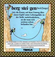 berg°stei°gen - Ein Wörterbuch für Himmelsstürmer