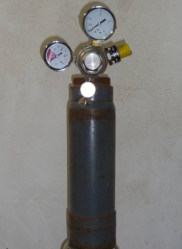 Druckluftbehälter - Kohlensäureflasche