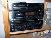 Stereoanlage 90erJahre Tuner Kassettendeck CD-Spieler