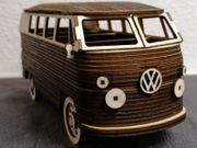 VW Bus Bulli Holzmodell Handgemacht