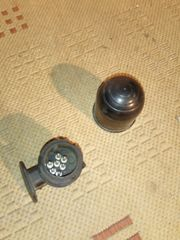 Adapter und Kugelschutzkappe