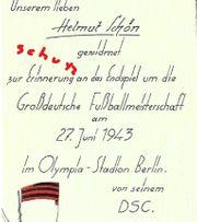 Dresdner SC 1943 Deutscher Fußballmeister -