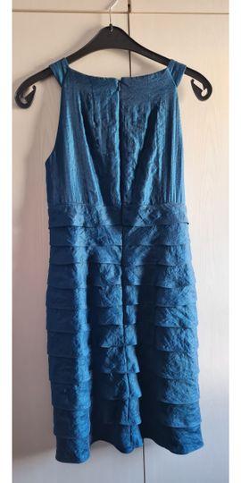 Festliche Abendbekleidung, Damen und Herren - Kleid Gr 40 türkis Festkleidung