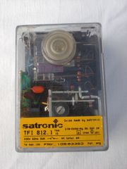 2 Honeywell Satronic Brennersteuergeräte TFI812