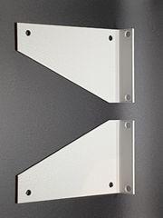 Reagalträger Regalkonsole Konsole Metall weiß