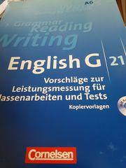 ENGLISH G21 Band A6 Vorschläge