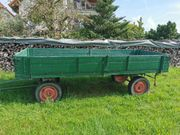 Landwirtschaftlicher Anhänger 2-Achser Langholzwagen für