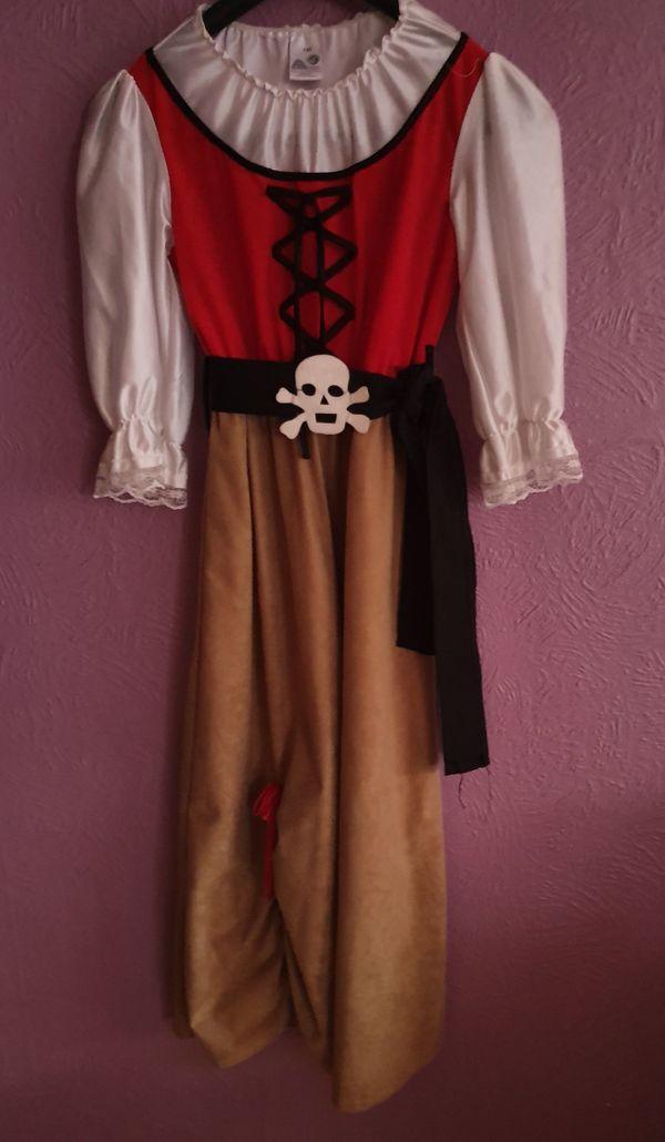 Piratenmädchen Piratin Kinder Karneval Fasching