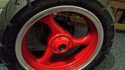 Verkaufe Felge Reifen Bremsscheibe vorne