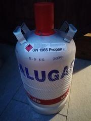 Alugasflasche 11kg Voll Gefüllt Unbenutzt