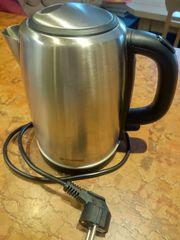 Edelstahl Wasserkocher Elektrisch Grossag 1