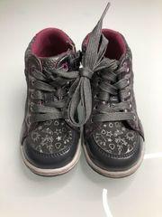 Kinder GEOX blinkende Leder Schuhe