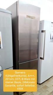 Siemens Kühlgefrierkombi A 201cm 337L