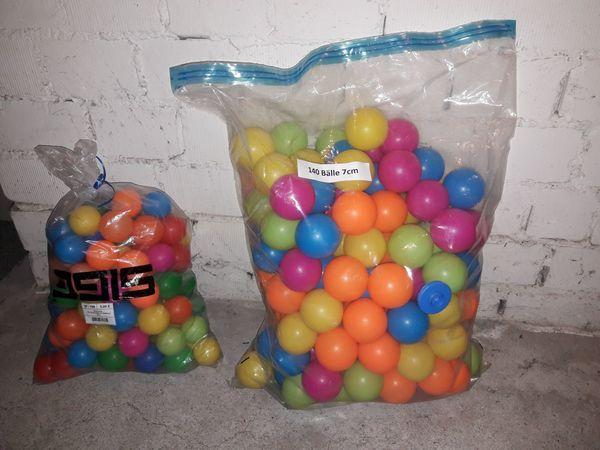 Bällebad Farbmix Bälle 2 verschiedene