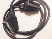 SCART Kabel - schwarz - ca 130 cm