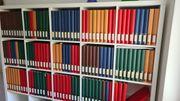Riesige Sammlung Briefmarken - 129 Alben