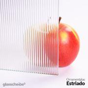 Ornamentglas Strukturglas Floatglas Glaswand Glasscheibe