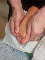 Deine Füße machen