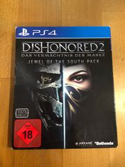 Verkaufe PS4 Spiel Dishonored 2