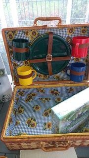 Picknickkoffer zu verkaufen