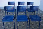 6 x Stapelstühle Stühle Stuhl